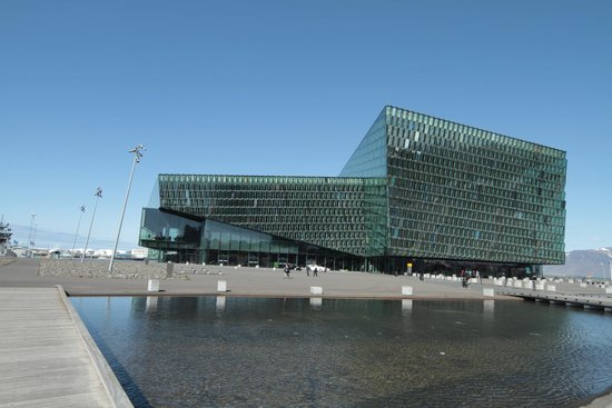 Harpa Reykjavik Concert Hall and Conference Centre: The Harpa from outside