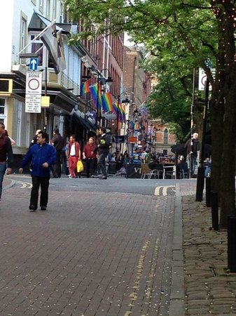 Canal Street - Manchester Gay Village