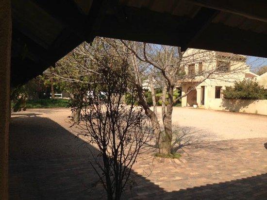 La Vue Guest Lodge and Function Venue : The hotel courrtyard