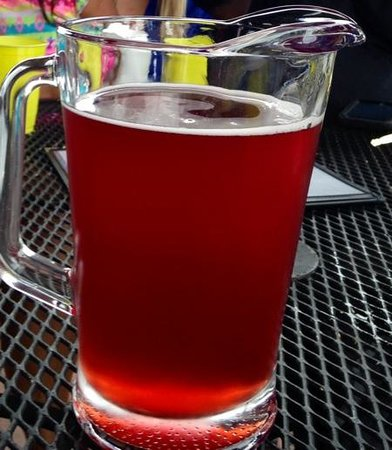 Swamp Rabbit Brewery & Tap Room: red whitey