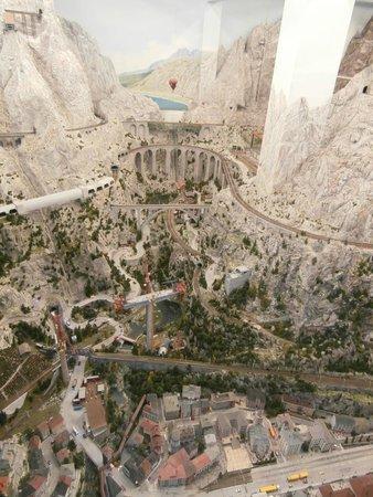 Miniatur Wunderland : In den Bergen