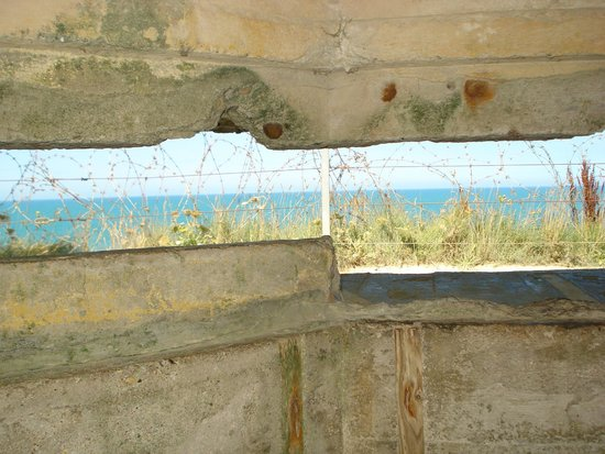 Normandyours Private Tours: German Bunker View - Normandy