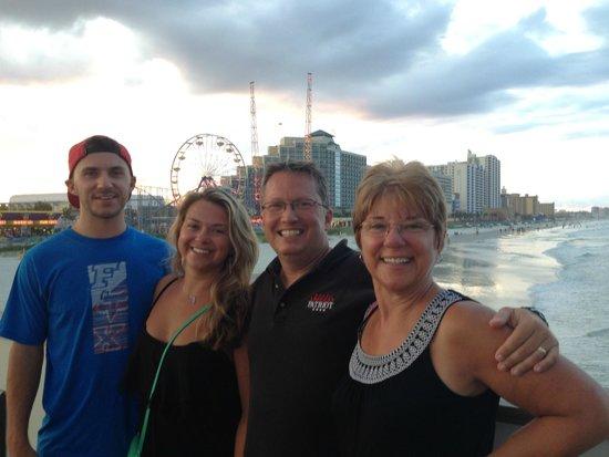 Joe's Crab Shack: My Family...