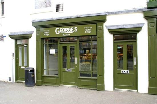 Georges Tradition fish and chips