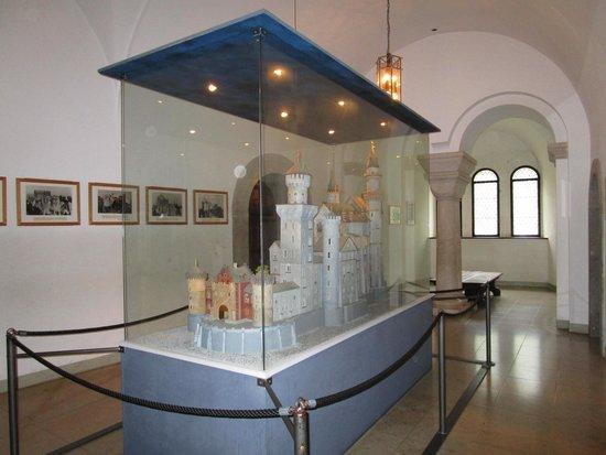Castillo de Neuschwanstein: A maquete !!!