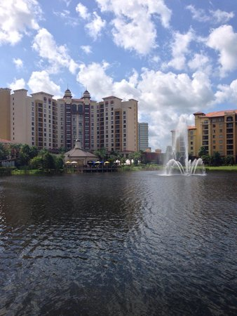 Wyndham Grand Orlando Resort Bonnet Creek: View from my morning walk