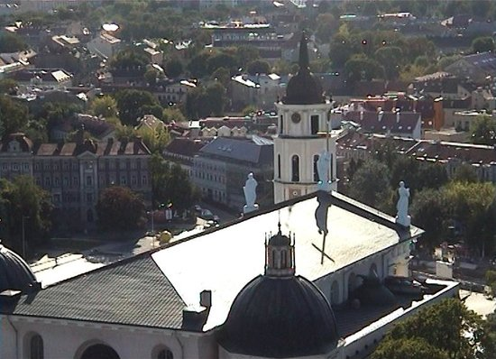 Cathedral (Arkikatedra Bazilika): Cathedral from Gediminas Hill