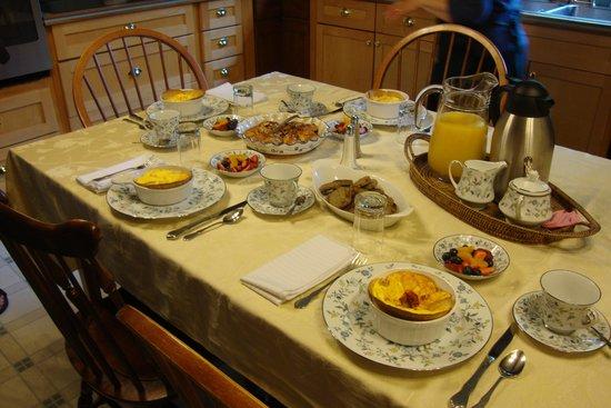 Elbridge, NY: wonderful breakfast