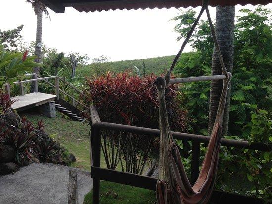 Domaine Karaibes: Vue du bungalow