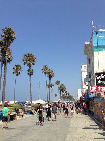 Venice Beach Boardwalk : Il lungomare