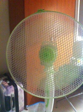 Reiter Hotel : Ventilator. Keine Klimaanlage!