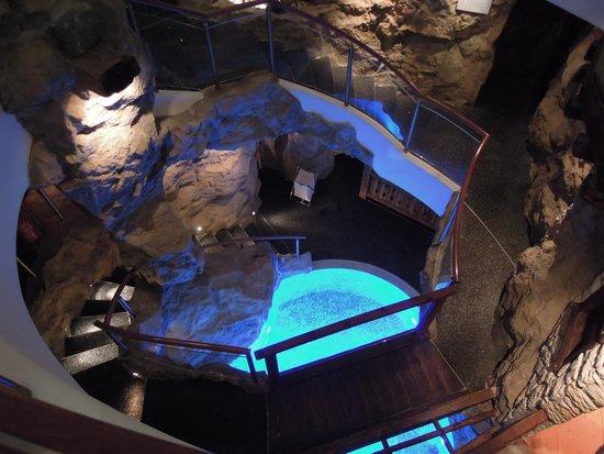 Hotel Adler Dolomiti Spa & Sport Resort : grotte