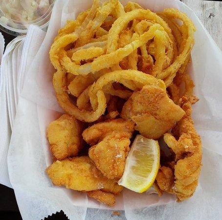 Schutty's Seafood: Haddock Basket