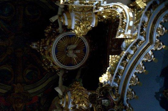 Iglesia de San Francisco: Detalhes do teto da igreja de São Francisco