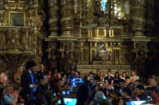 Iglesia de San Francisco: Detalhes do altar da igreja de São Francisco