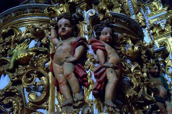 Iglesia de San Francisco: Querubins da igreja de São Francisco