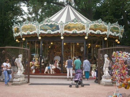 Parc de la Tête d'Or : Tiovivo
