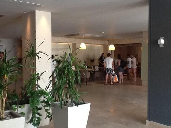 Aktia Lounge Hotel & Spa : hall d entree