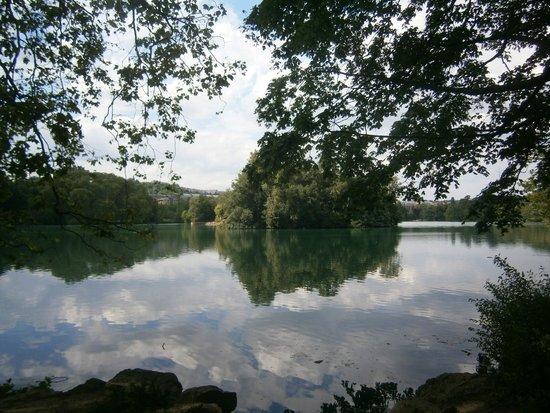 Parc de la Tete d'Or: Lago