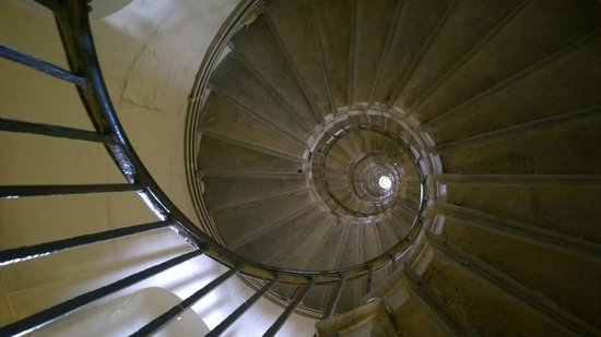 The Monument to the Great Fire of London : Looking up