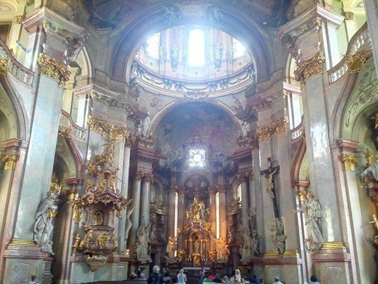 Église Saint-Nicolas de Malá Strana : coeur