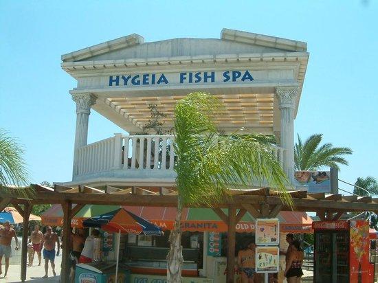 WaterWorld Waterpark: Fish Spa and massage