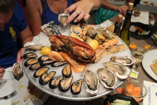 Toinou Les Fruits de Mer : Малая комплексная тарелка