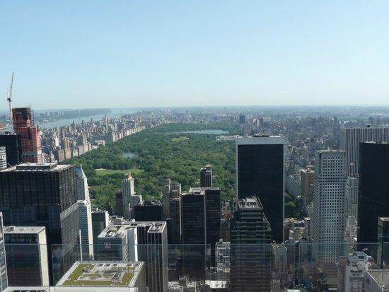 Rockefeller Center: Vue côte Central Park