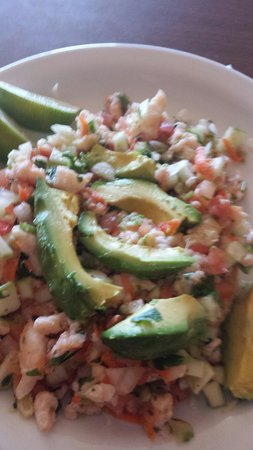 Los Cabos Mexican Restaurant: Fish Ceviche