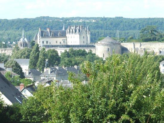 Novotel Amboise : Chateau d'amboise (au téléobjectif)