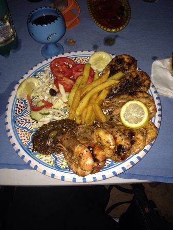 Restaurant Sidi Ali Adel : Gamberoni ottimi!!!