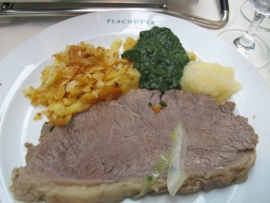 Plachutta Wollzeile: One of the dishes which we ordered