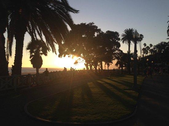 Santa Monica Beach: Tramonto a Santa Monica