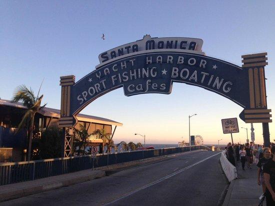 Santa Monica Beach: Santa Monica