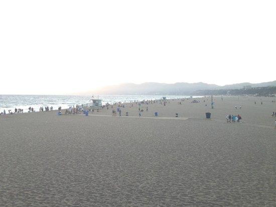 Santa Monica Beach: La spiaggia di Santa Monica