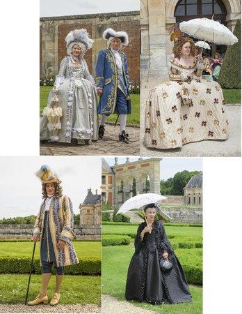 Château de Vaux-le-Vicomte : Period Costumes