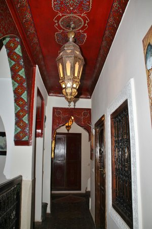 Riad Libitibito: Couloir