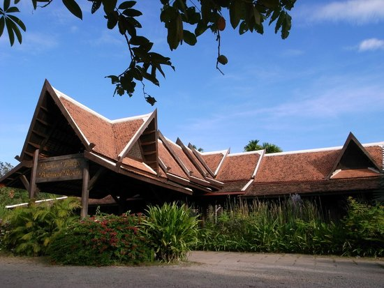 Angkor Village Resort: ホテル正面