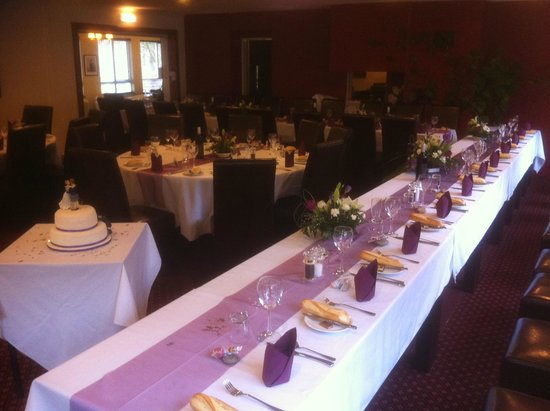 The Brander Lodge Hotel & Bistro: Another Brander Lodge Hotel Wedding set ups