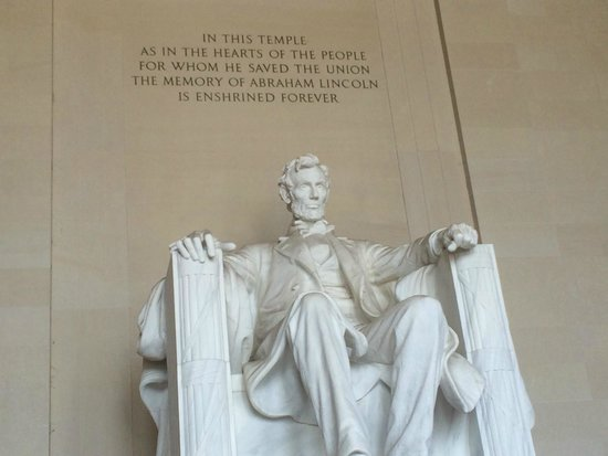 Lincoln Memorial: A long walk, but worth it