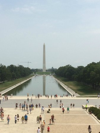 Lincoln Memorial und Reflexionsbecken: Great photo spot