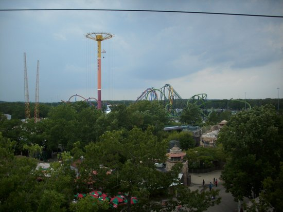 Six Flags Great Adventure: From the sky ride