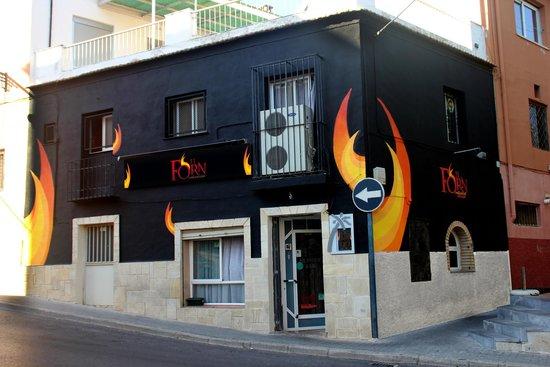 Restaurante Bar El Forn : Nueva fachada, nuevo estilo