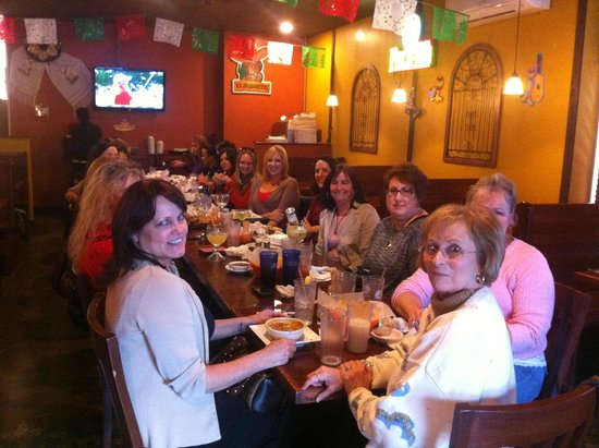 El Burrito Mexican Restaurant: Friends gather at El Burrito