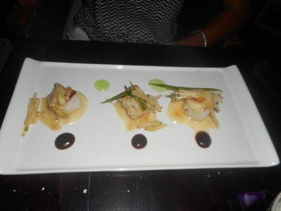 Cocoon Restaurant Bar Beach Club: les plats