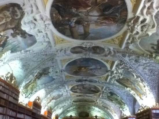 Strahov Monastery : plafond