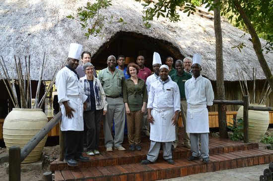 Waterbuck Safaris : unforgettable staff of Selous Luxery Camp