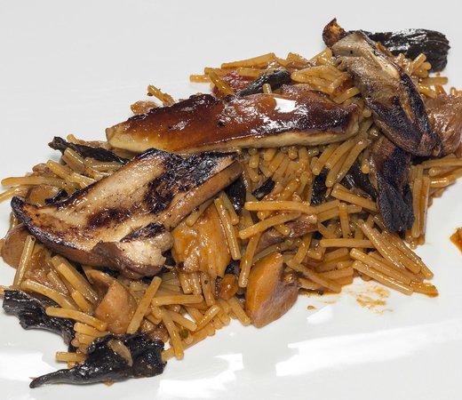 Restaurant GloriaMar: Fideuà de foie y pato