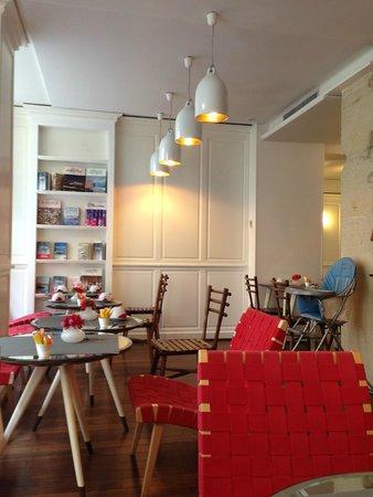 Hotel Monterosa - Astotel: Очень красивая и приятная зона столовой