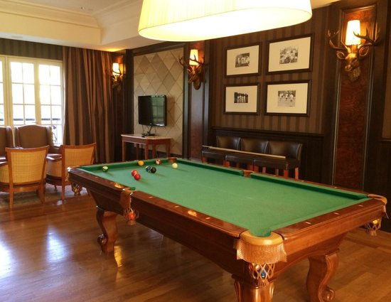 The Danna Langkawi: Game room.